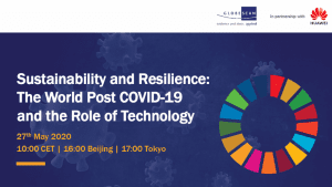 Webinar Recap | Sustainability and Resilience: The World Post COVID-19 and the Role of Technology